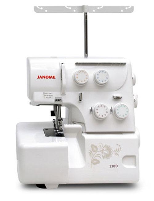 Оверлок Janome 210 D