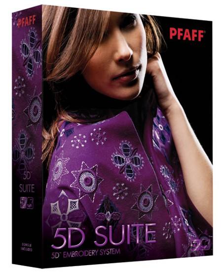 ПО для Pfaff 5D Suite