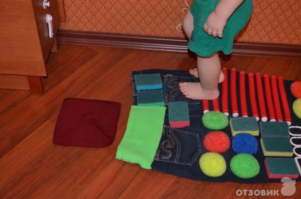 Детские массажные коврики для ног своими руками фото