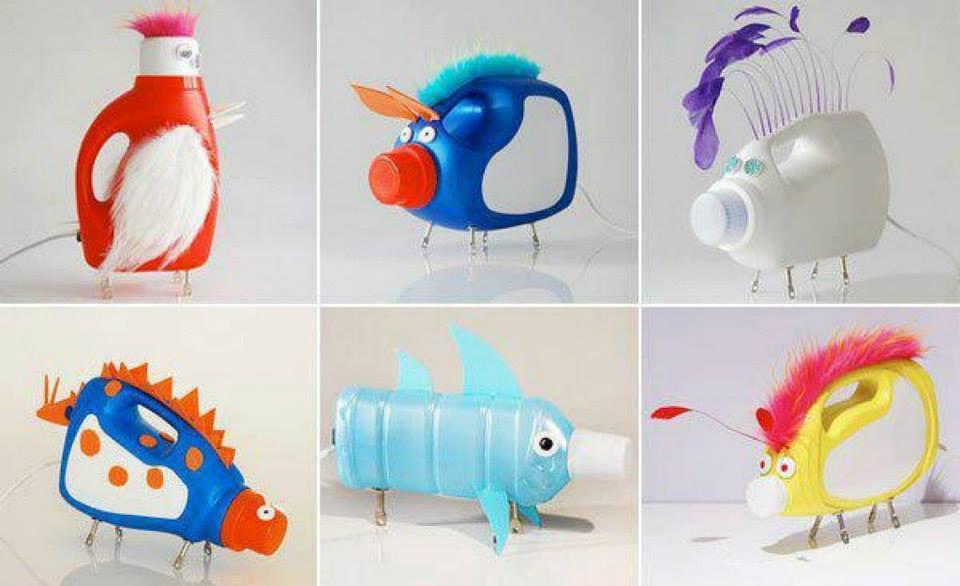 Из пластика игрушки своими руками