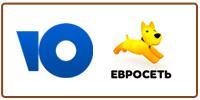 Прямой платеж на счет в системе Яндекс, через офисы Евросети.
