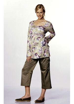 Выкройка BURDA - Женская (мода для будущих мам) №8376 11e463db61926
