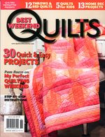 Журнал Best Weekend Quilts 06.13