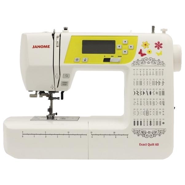 Машине швейной janome eq к 60 инструкция